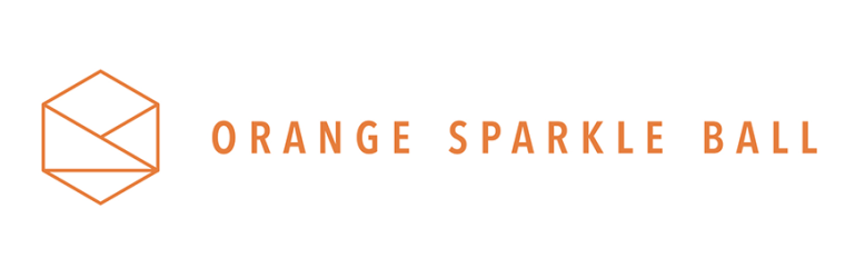 Orange Sparkle Ball sponsor logo