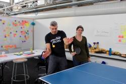 2017 Jam - Full contact ping pong